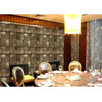 Embossed Stone Effect Contemporary Bedroom Wallpaper For Tv Wall Background Manufactures