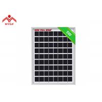 China Durable 5W Polycrystalline Solar Panel High Module Conversion Efficiency on sale