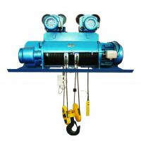China Alloy Steel Hook 20 Ton Electric Hoist Customized Color For Molten Metal on sale