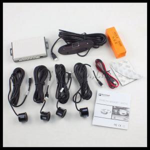 Car LED Parking Sensor Kit Display 4 Sensors Reverse Assistance Radar Monitor System Manufactures