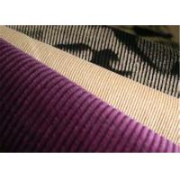 210 GSM Cotton Corduroy Fabric Water Proof 16 Stretch For Dress , Garment Manufactures