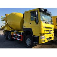 3 Axles Concrete Mixer Truck  For Construction Ten Wheels LHD Steering Manufactures