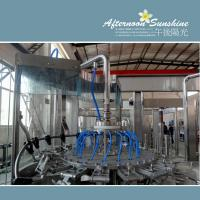 Automatic Tea Filling Machine Beverage / Chemical Bottle Filling Equipment Manufactures