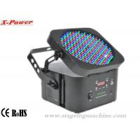 198 Pcs RGB LEDs wireless Led Par Can Lights With Rechargeable Lithium Battery Manufactures
