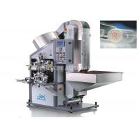 Automatic Rounder Aluminum Lid Hot Foil Stamping Machine One Color Top Surface Manufactures