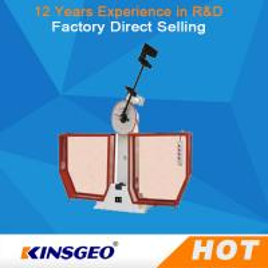 Buy cheap Irregular Surface Plastic Testing Machine / Durability Semi Automatic Impact Testing Machine from wholesalers