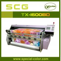 China Flatbed Direct Textile Printer Machine With Epson DX5 Printhead on sale