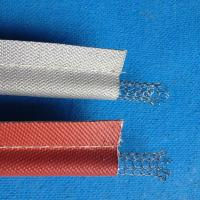 China Long Lifetime Silicone Coated Fiberglass Cloth , 8H Plain Weave on sale
