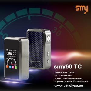 China High quality Mini Smy60TC box mod temperature control box mod 60w box mod mini smy60 TC mini box mod on sale