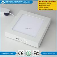 China Surface LED panel light 24W SMD2835 CE RoHS approved AC85-265V on sale