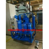 Buy cheap Waste Oil Treatment Plant, Turbine Oil Purifier; Vacuum Lubricant Oil Regenerati from wholesalers