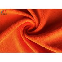 Reflective Polyester Fluorescent Material Fabric Brushed Uniform Fabric For Garment Manufactures