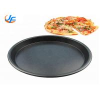 Commercial Aluminium Cake Mould / Bakery Trays Pizza Baking Pan14 Inch Pizza Tray Manufactures