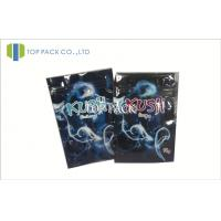 Resealable Foil Herbal Incense Bags With Zipper Custom Size And Color Manufactures