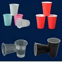China OEM Color  ABS / PC / PP Custom Plastic Containers For Reusable Plastic Cup on sale