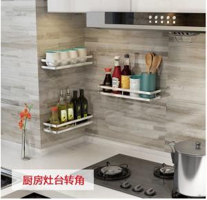 Stinless Steel Metal Kitchen Rack Shelves / Square Dinnerware Storage Rack Manufactures