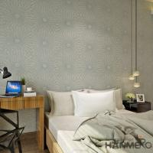 Fiber Particle Interior Wallpaper Wall Decoration Living Room Plant Manufactures