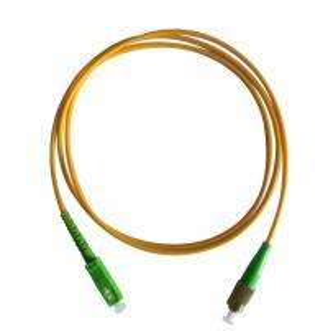 China FC/APC to SC/APC singlemode simplex fiber Optical patch cord 2.0mm 3mtrs on sale