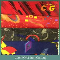 China Classic Printing Auto Upholstery Fabric 200 - 230gsm 150cm Width on sale