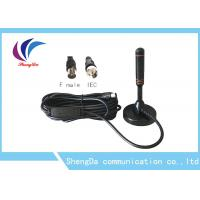 30dBi Sucker Whip VHF UHF Digital Antenna RG174 Coaxial Cable ROHS Approval Manufactures