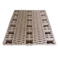 Eco - Friendly Waste Paper Pulp Pallet Molded Single Faced Style Manufactures