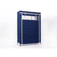 China Fabric Cabinet Portable Wardrobe Closet 96.5 X 41 X 193 Cm With Powder Coating on sale