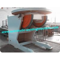 VFD Control Pipe Welding Positioner , Rotary Welding Table , Welding Turning Table Manufactures