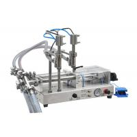 Essential Oil Filling Machine / Bottling Machine 50-5000ml Bottles Without Drop Manufactures
