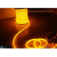 China SMD 5050 60D 220v LED Rope Light , Round PVC Yellow LED Tape Lights For Holiday on sale