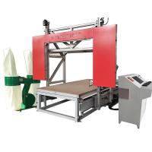 Low Noise CNC Fast Wire Puf PU Foam Cutting Machine For Rigid Foam Sponge EVA