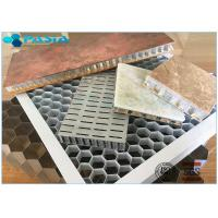 Non Perforated 5mm Side Length Aluminum Honeycomb Core Ceiling Composite Board Manufactures