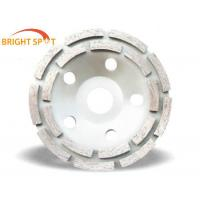 Quality 180mm Diamond Double Row Cup Grinding wheel for Granite/Marble/Sandstone for sale