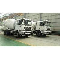 SHACMAN Second Hand Concrete Mixer Trucks , Used Concrete Mixer 99 Km/H Max Speed Manufactures