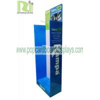 China MDF Pop Cardboard Displays With Metal Hooks / Camping Tent Standee Display Enps114 wholesale