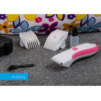 DC Motor Small Pet Hair Clipper , Cord / Cordless Rechargeable Pet Clipper Manufactures