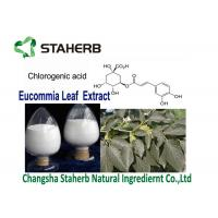 Quality RAW Material Pharmaceuticals Eucommia Ulmoides Extract P.E Chlorogenic Acid 5-98 for sale