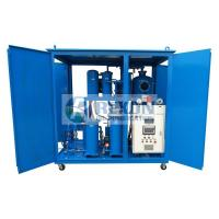 China 6000LPH TY-100 Industrial Oil Filtration Machine , Turbine Oil Treatment Machine on sale