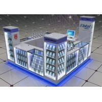 Quality Durable Small Space Cell Phone Display Fixtures For Shopping Mall Display for sale