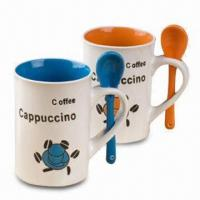 Coffee Mug with 10 and 12oz Capacity, Meets FDA/LFGB Safety Standards Manufactures