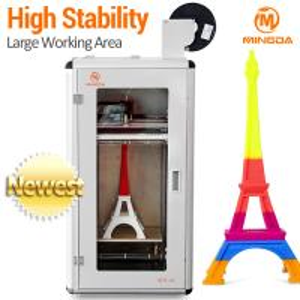 China 1.75 mm TPU / ABS / Nylon / PLA Desktop 3D Printer FDM OEM high resolution wholesale