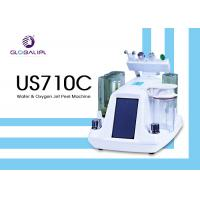 Deep Skin Cleaning Water Oxygen Jet Peel Machine Acne Removal 6MHZ Frequency Manufactures