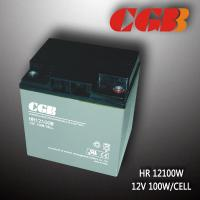 Maintenance Free High Rate Discharge Battery HR12100W 12V28AH High Discharge Batteries Manufactures