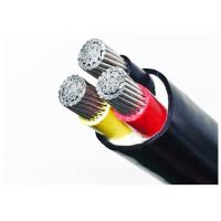 Underground Low Voltage Power Cable / Low Voltage Outdoor Cable Black Manufactures