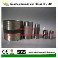 China Thread pipe nipple,carbon stainless steel pipe nipples from Chinese factory on sale