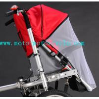 China Red Bed Nets Baby Stroller Bike With Disk Brakes On Both Wheels on sale