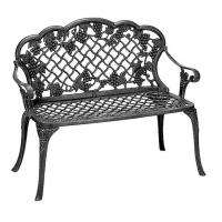 China Classical European Cast Iron Garden Table And Chairs Weather Resistant on sale