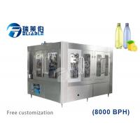 24 Washing Auxiliary Equipment Liquid Bottle Filling Machine For Carbonated Drinks Manufactures