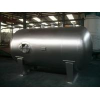 Stationary Pressure Vessel Tanks , Horizontal Q235-B Stainless Steel Tank Manufactures