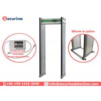Walk Through Archways Metal Detectors High Speed Passing With Aluminum Head Box Manufactures