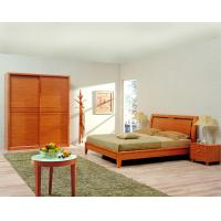 Quality Classic Single bed design wooden bedroom furniture by Shenzhen factory for Residential and apartment project use for sale